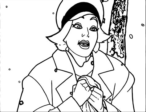 Talking Page Coloring Pages