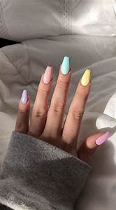 jjuliakimm pretty acrylic nails best acrylic