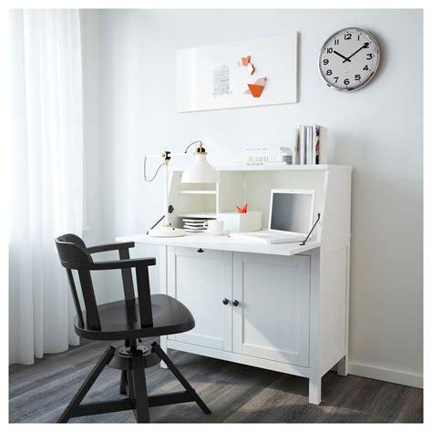 bureau ikea hemnes bureau white stain 89x108 cm ikea