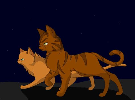 Brambleclaw And Squirrelflight By Tainted-raven On Deviantart