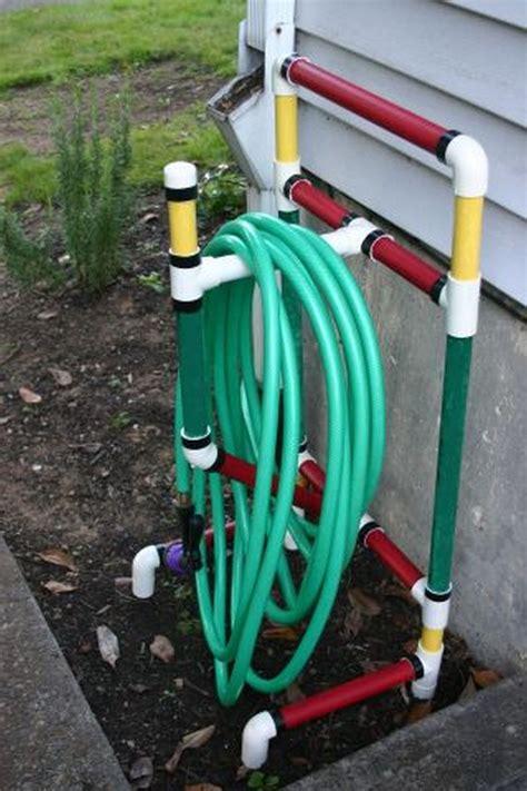 garden hose storage build a beautiful garden hose storage with planter diy