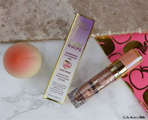 faced peaches cream crystal whips long wearing