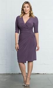Plus Size Wrap Dresses | Vixen Cocktail Dress