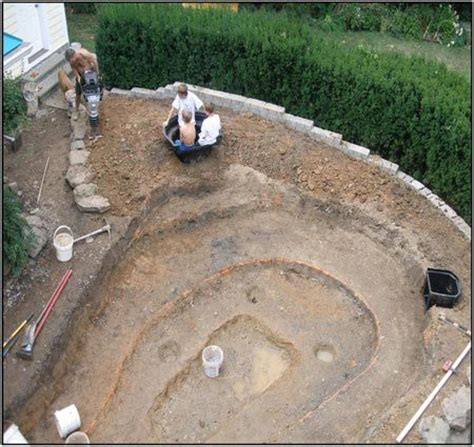 how does it take to build a backyard pond