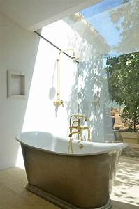 Brass Exposed Shower Fixture - Eclectic