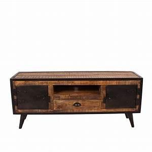 Tv Möbel Vintage : tv lowboard denada aus mangobaum massivholz ~ Sanjose-hotels-ca.com Haus und Dekorationen