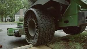 Talking About The X U00ae Tweel U00ae Turf Airless Radial Tire  John