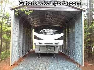 RV Carports RV Covers RV Garages Gatorback CarPorts