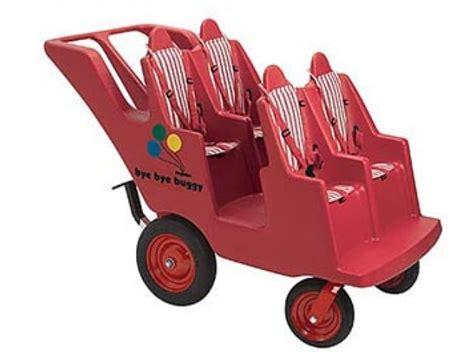 4 seat slim tire bye bye buggy bb 6300 daycare strollers 363   BB 6300