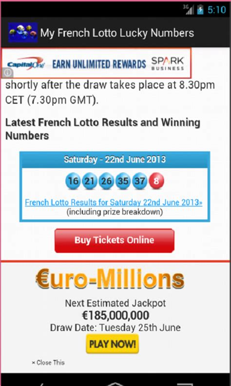 Image Result For Amazon Fr Loto Lottery Lucky Number Generator And Drawing