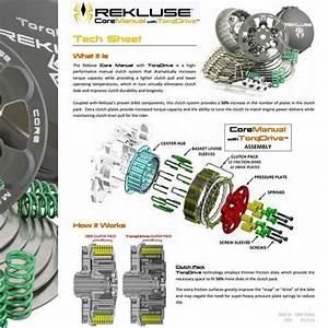 Rekluse Core Manual Clutch With Torq Drive Clutch Kit