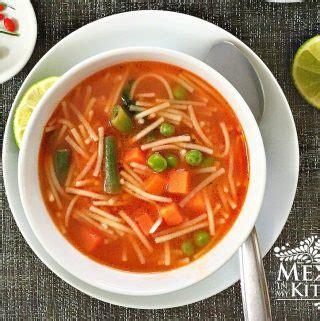 sopa urdu ingdrie ntes sopa de fideo mexican noodle soup authentic mexican recipes