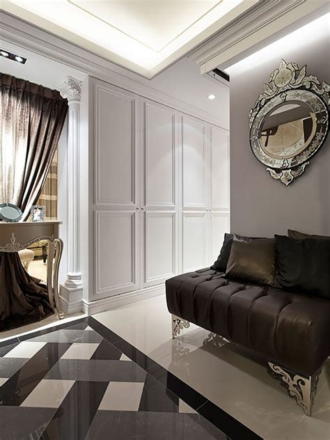 Chic apartment with aesthetics luxury  Hall of Homes