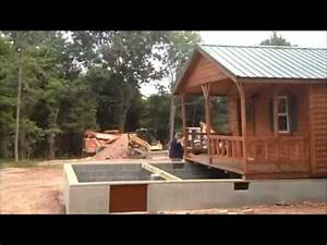 Lincoln 14x40 Cabin Placement On Foundation Virginia