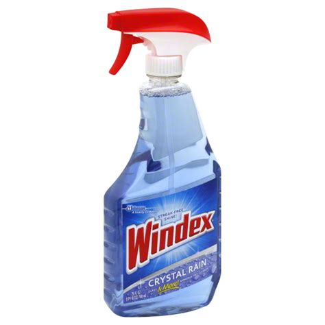 cleaning with ammonia windex ammonia free cleaner crystal rain household needs giant eagle