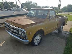 71 Gmc Chevy Chevrolet Truck Shortwide Shortbed Original