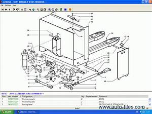 Linde Fork Lift Truck Spare Parts   Repair 2009  Spare Parts Catalog  Repair Manual Download