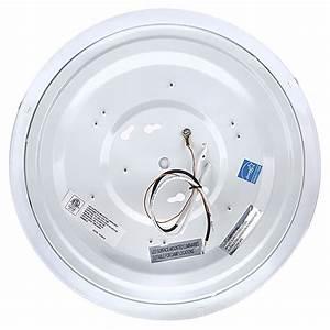 Quot dimmable led flush mount ceiling light watt