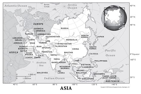 map  asia worksheet design templates