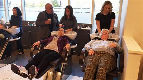 boston salon  homeless women  haircuts