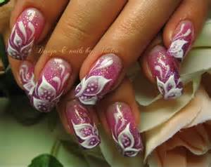 Flower nail art d gel flowers photo things i