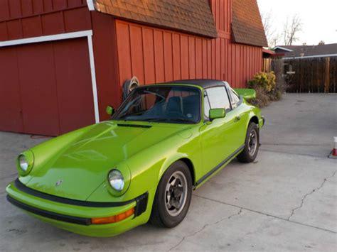 Seller of Classic Cars - 1974 Porsche 911 (Apple Green/Black)
