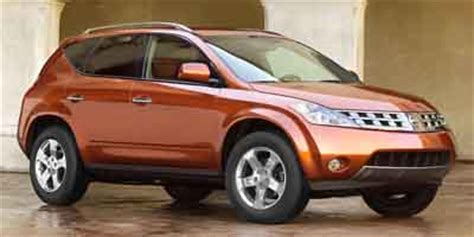 Nissan Murano 2003 Reviews by 2003 Nissan Murano Review Ratings Specs Prices And