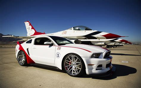 2018 Ford Mustang Gt Us Air Force Thunderbirds Edition
