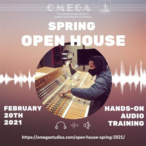 From demo drops, to live feedback sessions, q. Open House Spring 2021 - Omega Recording Studios