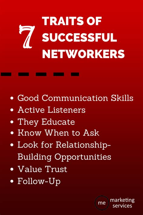 traits  successful networkers