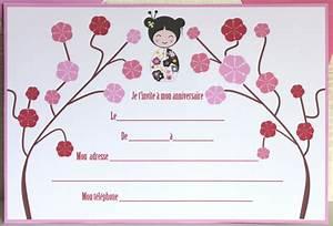 Invitation Anniversaire Fille 9 Ans : carte invitation anniversaire fille invitation anniversaire ~ Melissatoandfro.com Idées de Décoration