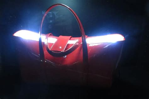purse lights up inside paris i futuro textile magical daydream