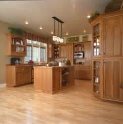 kitchen cabinet stain ideas craftsman style kitchen hickory wood cabinets craftsman