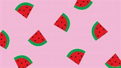 Watermelon Desktop Wallpapers Backgrounds Pink Aesthetic Background