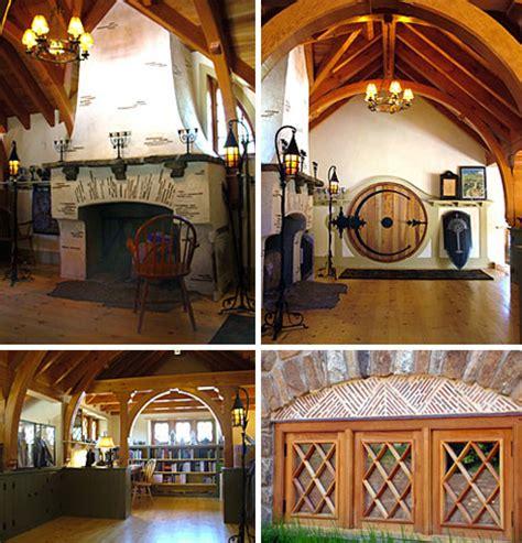 hobbit home interior hobbit home blends forest fantasy structural reality