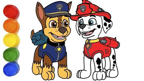 Paw Patrol Marshall Drawing Free download on ClipArtMag