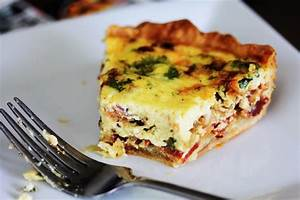 Bacon, Gruyere, and Shallot Quiche | CarnalDish