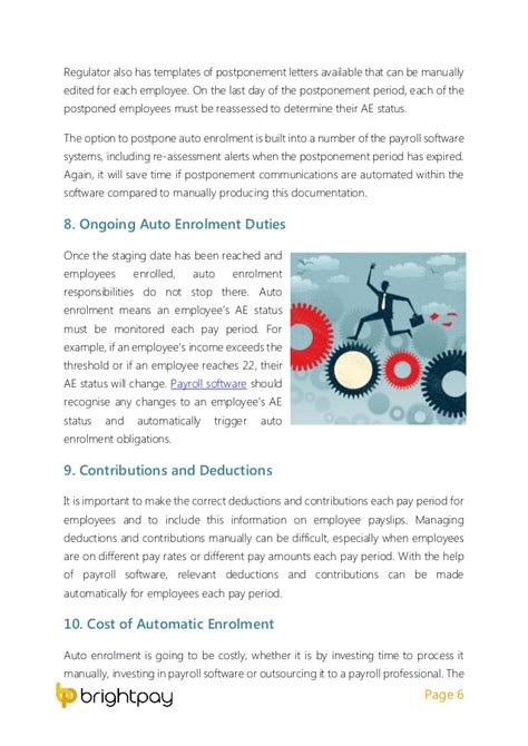 employer checklist  ensure auto enrolment  covered