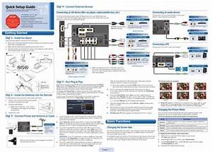 Samsung Ln40d610m4f Quick Setup Manual Pdf Download