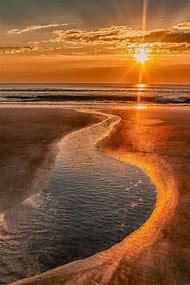 Beautiful Beach Sunrise Sunset
