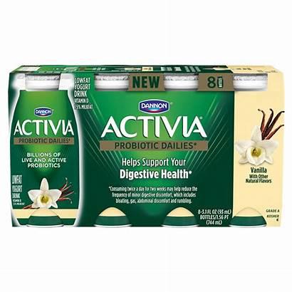 Activia Vanilla Drink Probiotic Dailies Dannon Oz