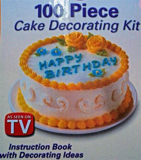 Cake Decorating Shows On Tv - other cookware cake decorating set 100 pieces as seen