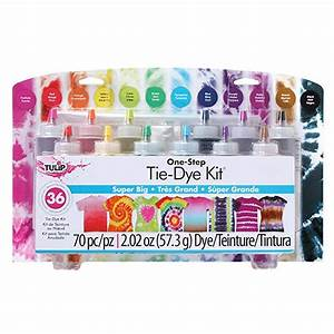 Tulip Tie Dye Kit Instructions