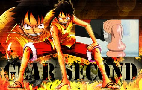 Including all the luffy gifs, mypost gifs, and anime gifs. Luffy: Gear Second by Seirenn on DeviantArt