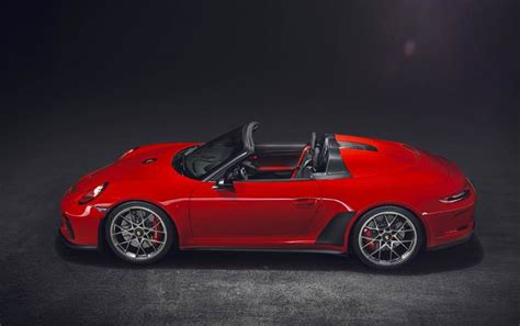 It is made by spark and is 1:43 scale (approx. Porsche 911 Speedster gets green light for production