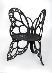 Wrought Iron Butterfly Chair by Amazon Com Flower House Fhbc205 Butterfly Chair Black