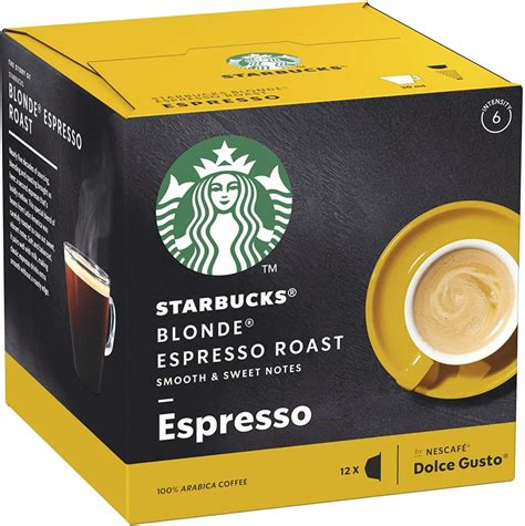 Starbucks is a coffee giant the world over, and with their verismo coffee machines, they are making moves into your kitchen. Starbucks Espresso Roast Blonde Roast Coffee Pods 12 ...