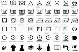 Wäsche Waschen Sortieren : w schezeichen pflegesymbole w sche waschen reinigen erkl rung kaufen sie diese vektorgrafik ~ Eleganceandgraceweddings.com Haus und Dekorationen