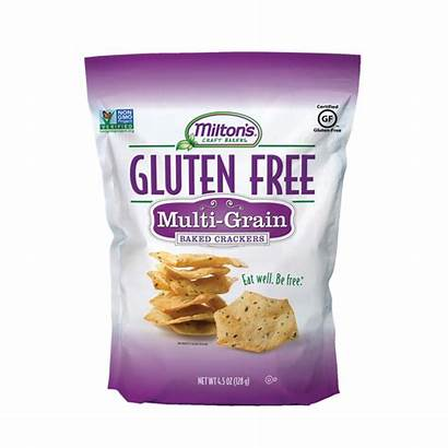 Multi Milton Grain Crackers Gluten Baked Baking