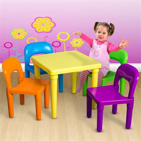 tot tutors table and chairs play set child activity